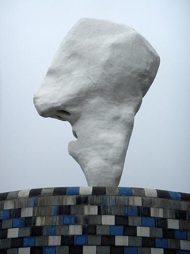 Knokke Heist statue (Belgium)