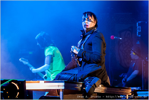 Twiggy Ramirez (Jeordie Osbourne White) & Marilyn Manson (Brian Hugh Warner)