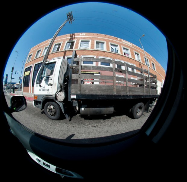 223 - Fisheyed Truck