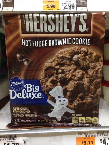 Limited Edition Pillsbury Big Deluxe Hershey's Hot Fudge Brownie Cookie