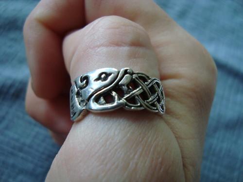 Spoils of con - Ouroboros ring