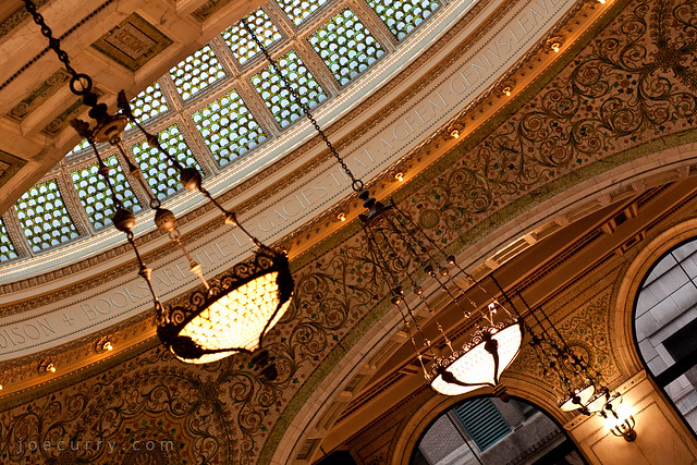 Chicago Cultural Center - Tiffany dome