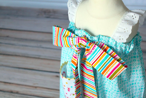 The Cottage Home_ Happy Day Big Bow Dress ~ Pattern and Tutorial