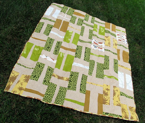 Brown & Green Quilt