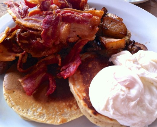 American pankakes @ The Breakfast Club