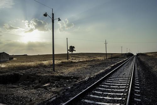 """166/365 """"De espaldas al tren"""" by Flickr Jiménez (Pedro Nog)"""
