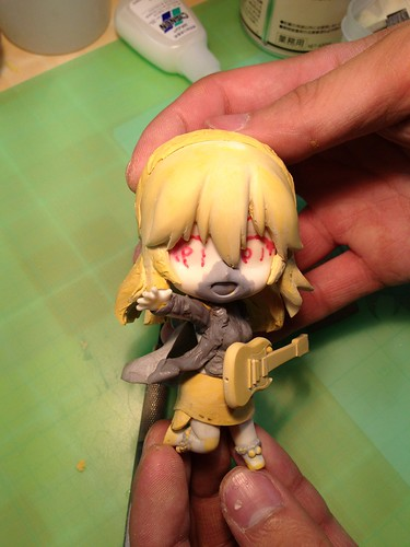Rough prototype of Nendoroid Super Sonico: Tiger Parka version