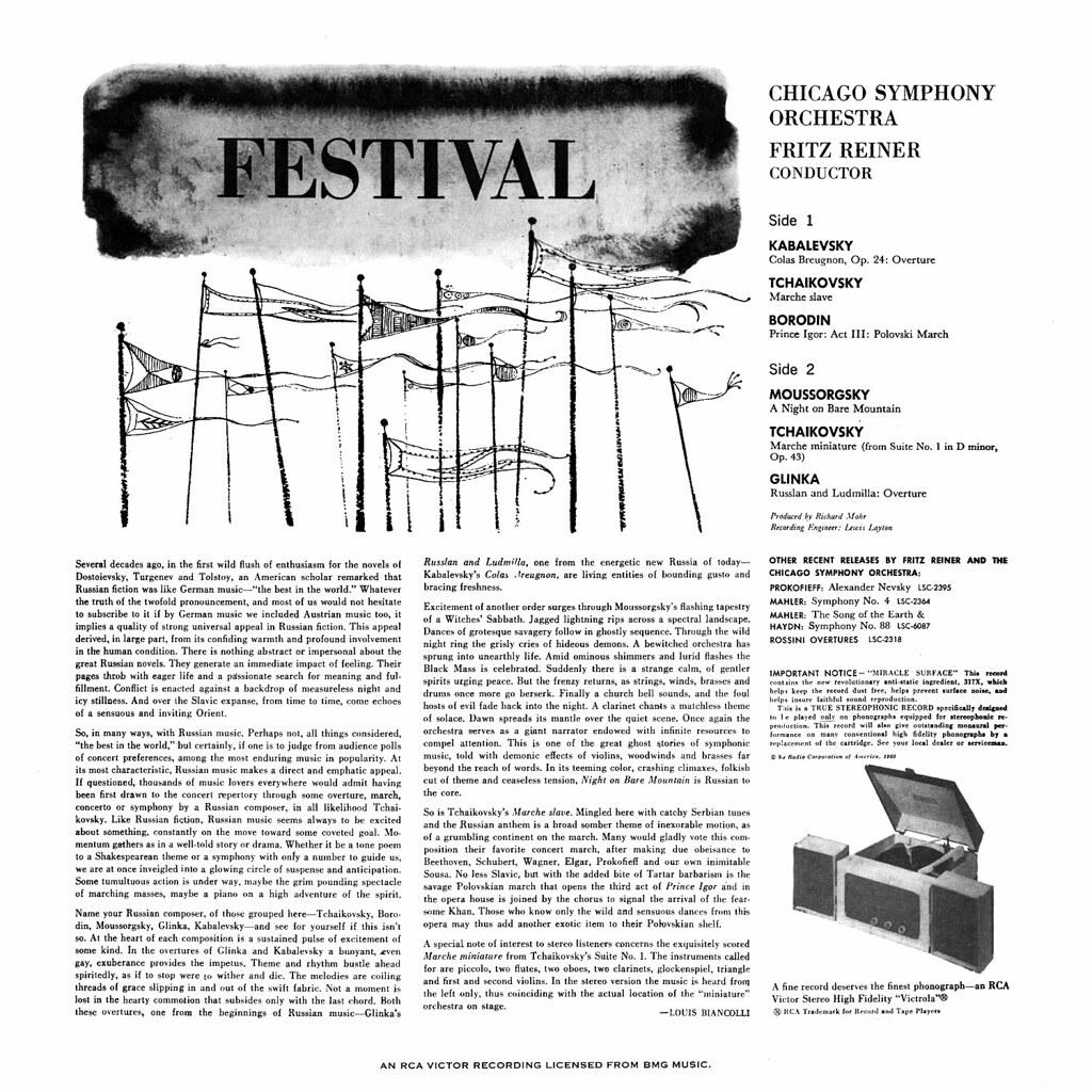 Fritz Reiner - Festival