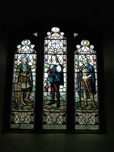 St Oswald, King Charles I, St Alban
