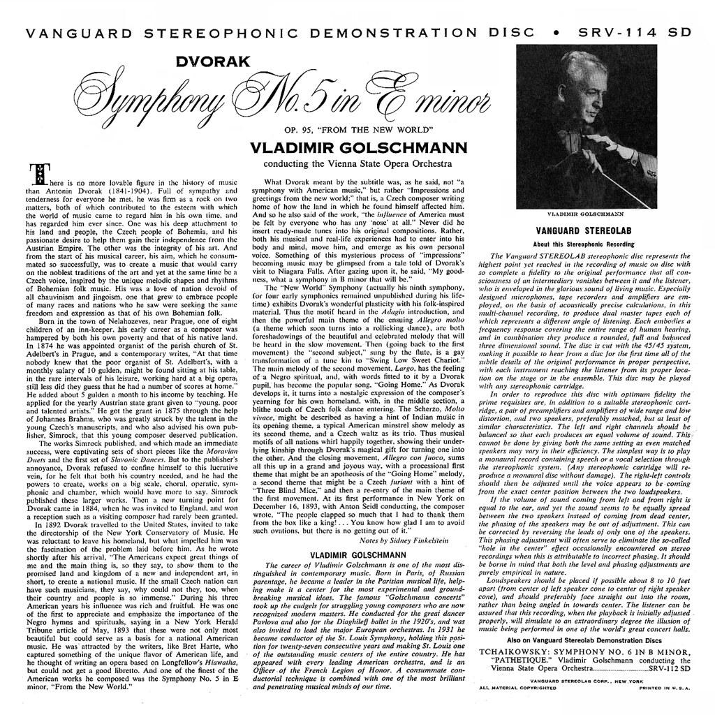 Antonin Dvorák - Symphony No. 9