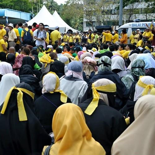 Bersih 3.0 Kota Kinabalu Duduk Bantah.