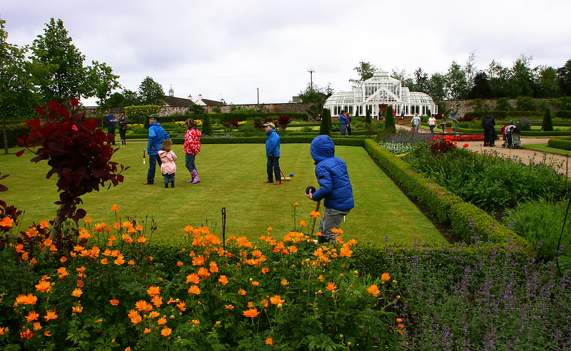 Croquet on The Lawn