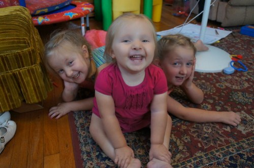 Martha, Evie and Lauren