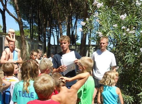 kids marathon at camping ca savio in cavallino treporti: instructions