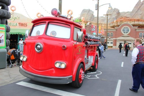 Cars Land characters