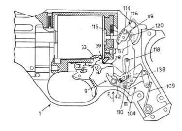 Chiappa Rhino Revolver Patent