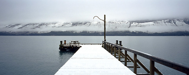 Glenorchy Pier, New Zealand von Dorian Photographics