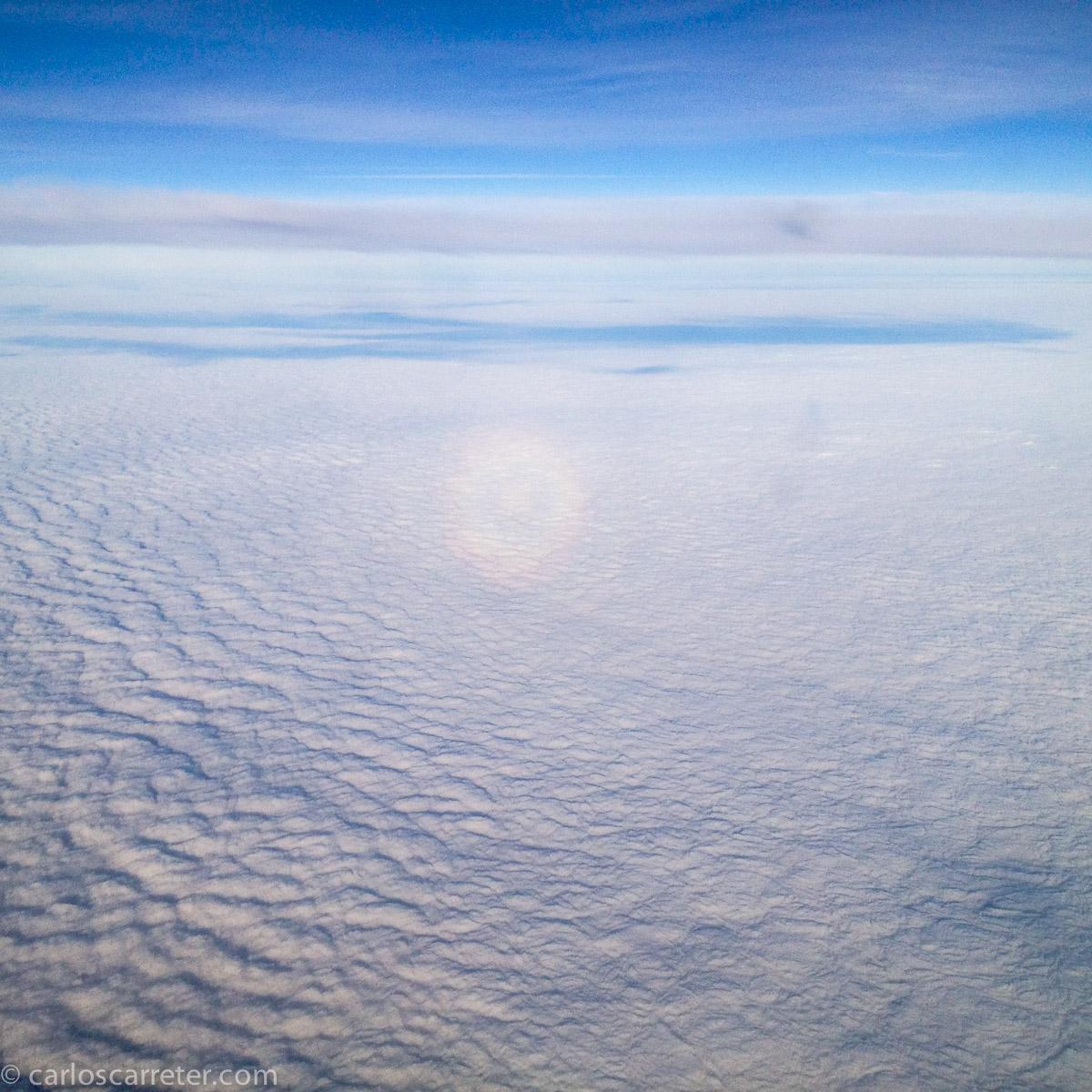 Sobre las nubes que cubren Europa