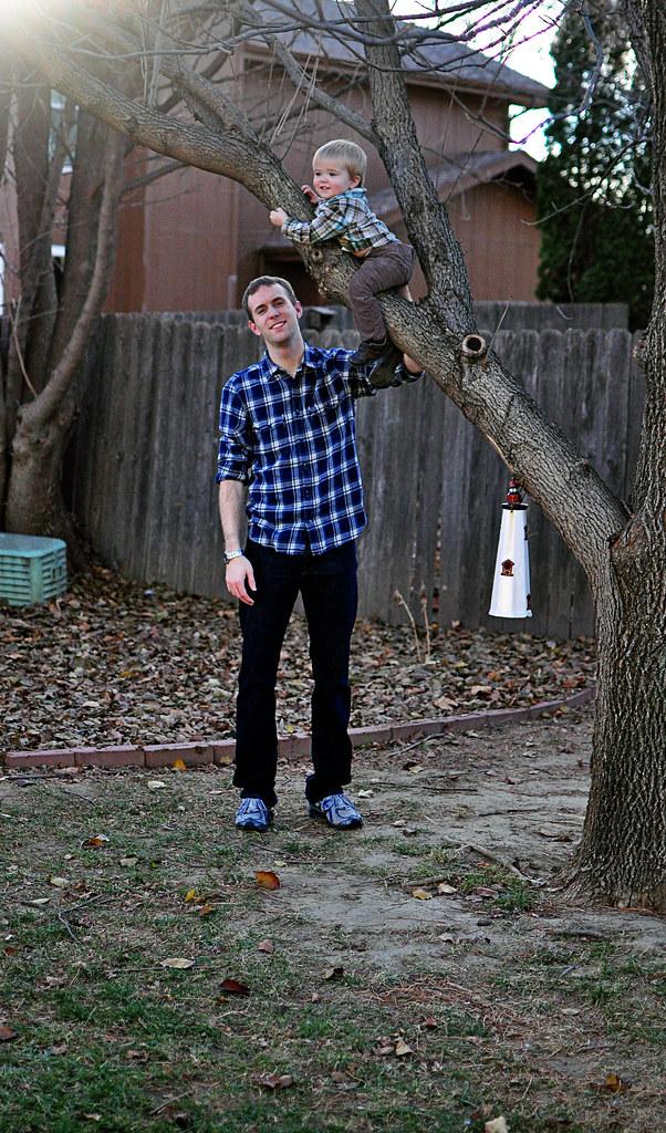 Joel and Noah {Thanksgiving 2011}