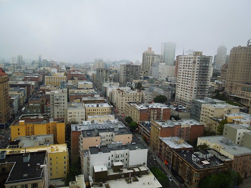 San Francisco - View west from 455 Sutter Street
