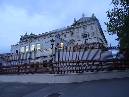 Wien, 1. Bezirk (the art of very historical buildings of Vienna), Corps de Logis (Hofburg), Burgring/Heldenplatz