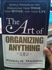The Art of Organizing Anything book