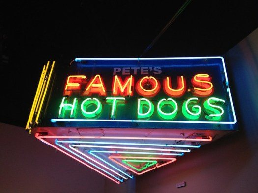 Pete's Famous Sign