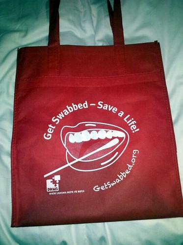 Sa-Weet! Re-usable bag. <3