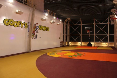 Goofy Sports basketball - Disney Fantasy