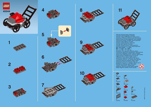LEGO Monthly Mini Model Build – 2012-06 (June)