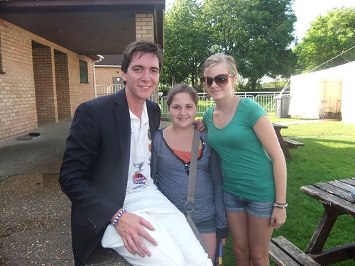 Charity Cricket Match - Meeting James Phelps (Fred Weasley) 004
