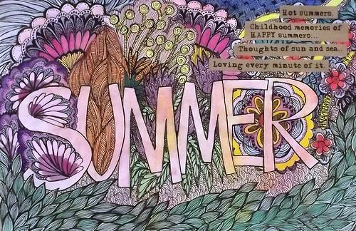 Art Journal Every Day: Summer