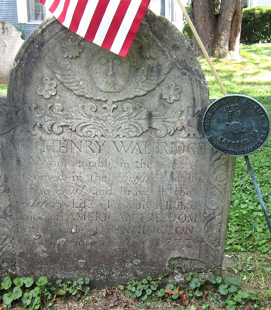 Henry Walbridge, Revolutionary Soldier