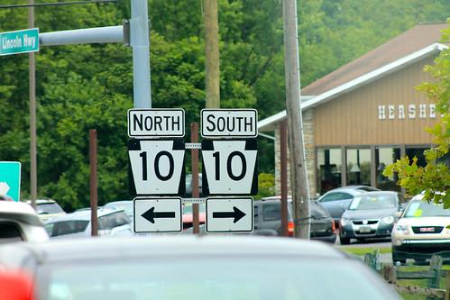 US 30 @ PA Route 10 - Parkesburg, PA by jmd41280