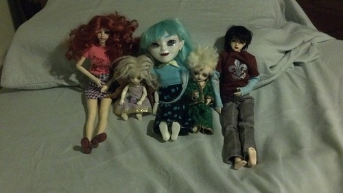 The Dolls I Took to Otakon With Me