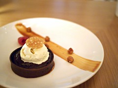 Chocolate Ganache Tart, Tanjong Beach Club