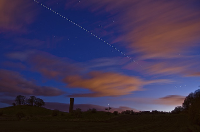 ISS over Cammo Edinburgh