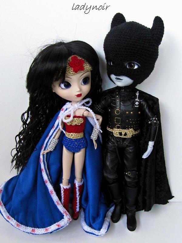 Superhero Couple - Melissa and Edward
