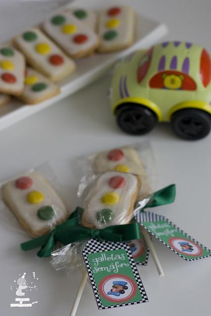 Etiquetas galletas semaforo