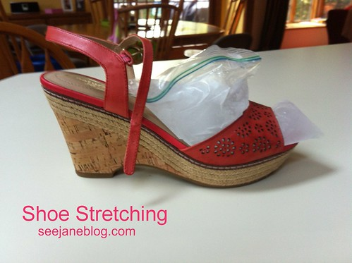 Shoe Stretching