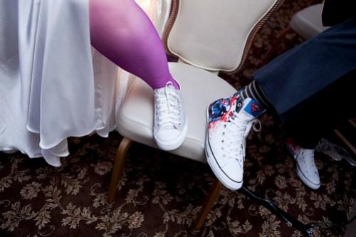 Reception shoes