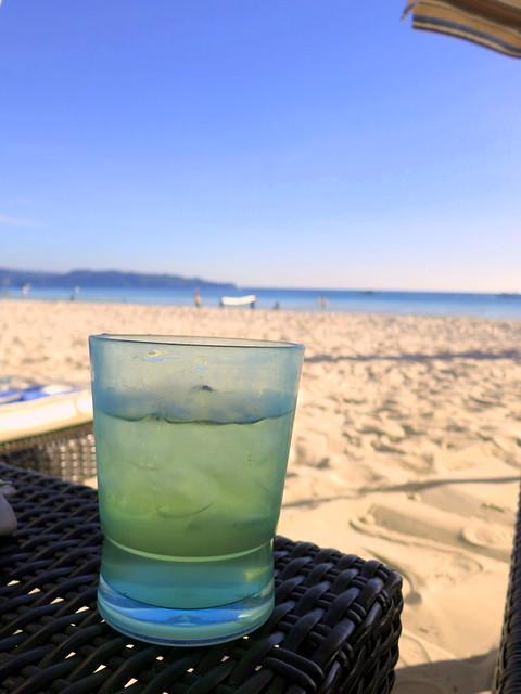 Discovery Shores Boracay beach pampering - pandan water