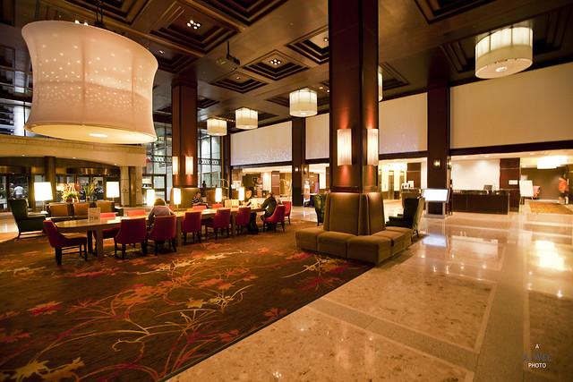 Sheraton Centre Lobby