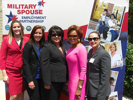 Act-1 Group at Military Spouse Employment Partnership Induction