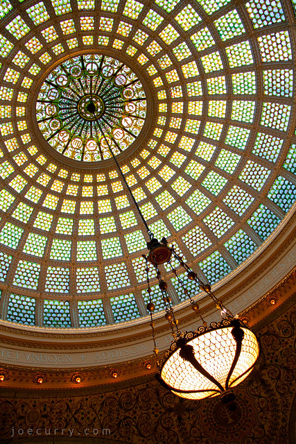 Chicago Cultural Center - Tiffany dome