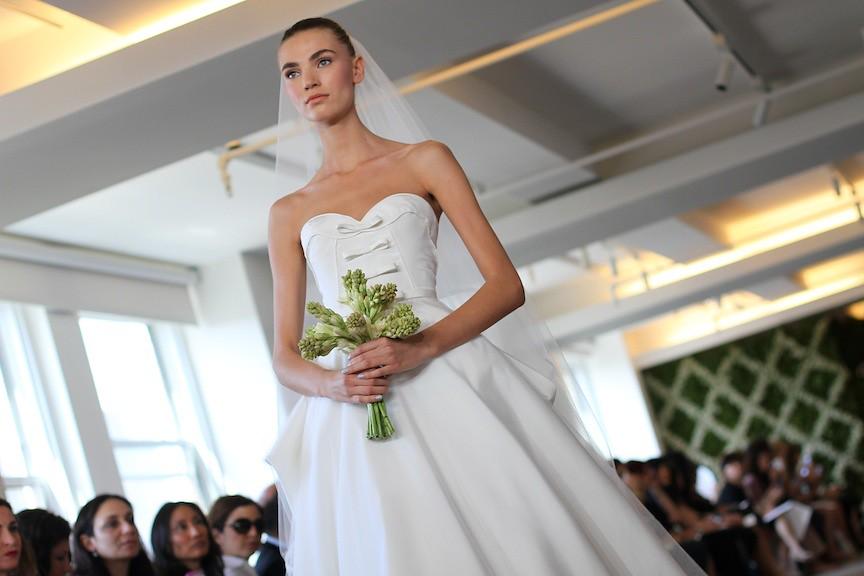 Oscar de la Renta Bridal 2013 97