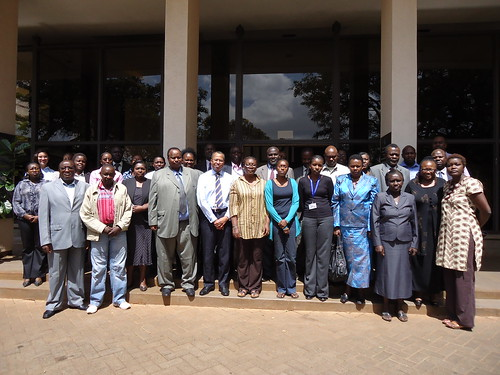 Group photo of participants of the 'Gender and Livestock Training Workshop for Policy Makers and Program Managers', 19-20 March 2012