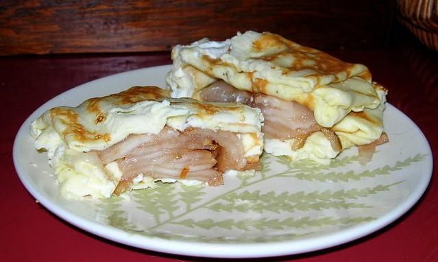 2 Egg Omelet with Pear & Chevre