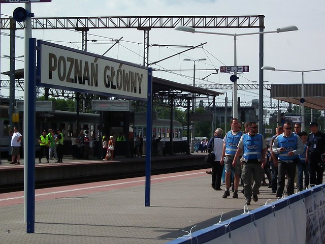Poznan Glowny Train Station - Poznan, Poland