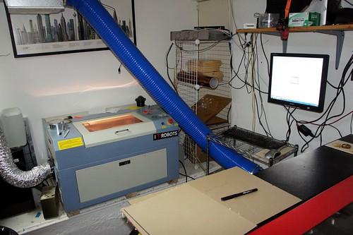 Metrix Create Space Laser Cutter